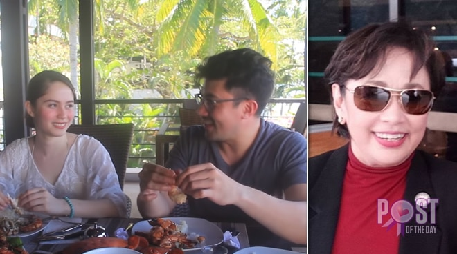 Luis Manzano shares how mom Vilma Santos saved Jessy Mendiola from fire when she was young