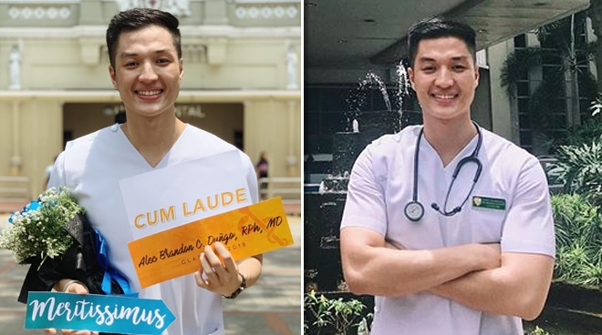LOOK: Former PBB housemate Alec Duñgo graduates from UST medical school with Latin honors