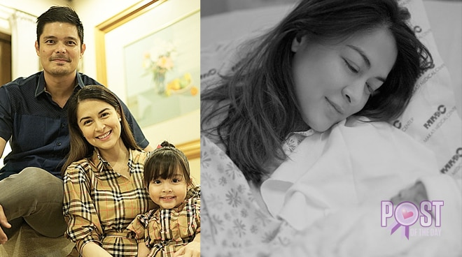 LOOK: Marian Rivera gives birth to a healthy baby boy