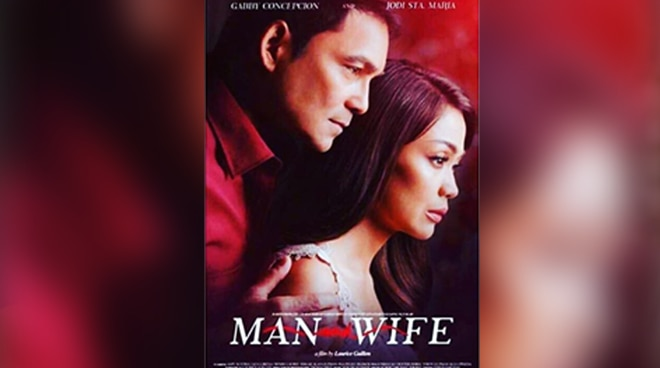 FIRST LOOK: Gabby Concepcion and Jodi Sta. Maria's 'Man and Wife' movie poster