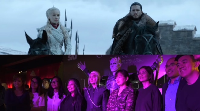 WATCH: Pinoy fans converge as the final season of 'Game of Thrones' premieres