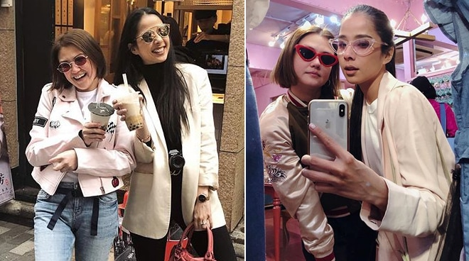 LOOK: How Angelica Panganiban finds a new 'sister' in Maxene Magalona