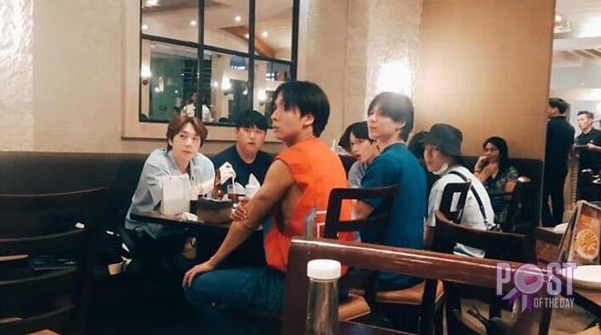 Wanna One, SHINee, VIXX, Hotshot and EXO members spotted in Cebu