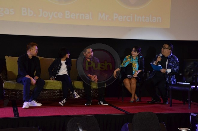 Check out some familiar faces who came to the first Cine Expo Manila yesterday, April 23.