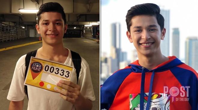 Former 'PBB' housemate Aljon Mendoza marks one year since Star Hunt audition