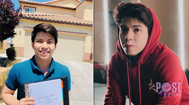 LOOK: Nash Aguas purchases a house in the US