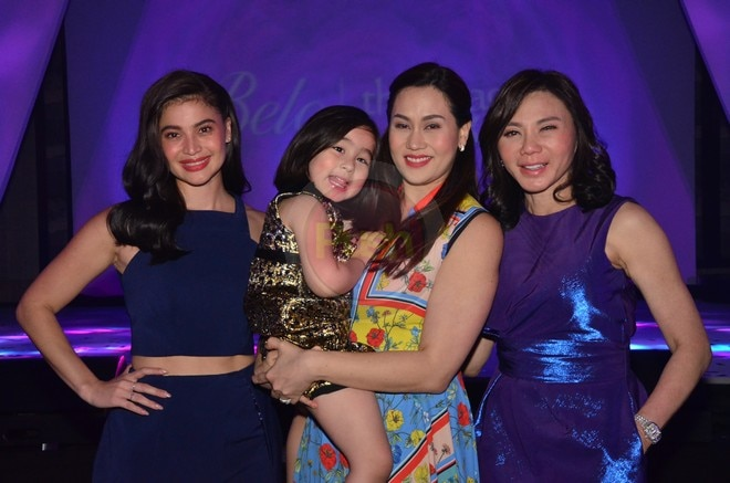 Celebrities came to grace the Belo Thermage FLX event.