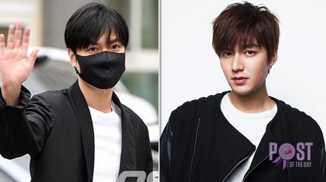 Lee Min Ho back from military service