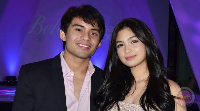 Heaven Peralejo and Jimuel Pacquiao support each other's careers