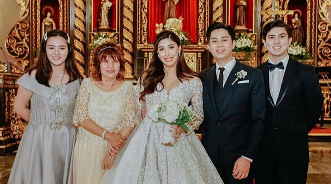 Dani Barretto grateful for the presence of the Legaspi family at her wedding