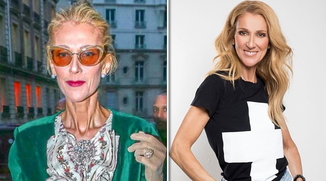 Fans express concern after photos of 'thin' Celine Dion surface