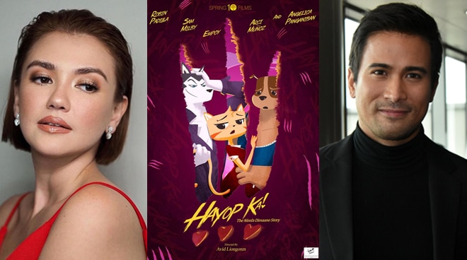Angelica Panganiban, Sam Milby and other celebs to lend their voices for original animated film 'Hayop Ka'
