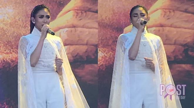 WATCH: Sarah Geronimo sings at Pope Francis' visit  in Abu Dhabi