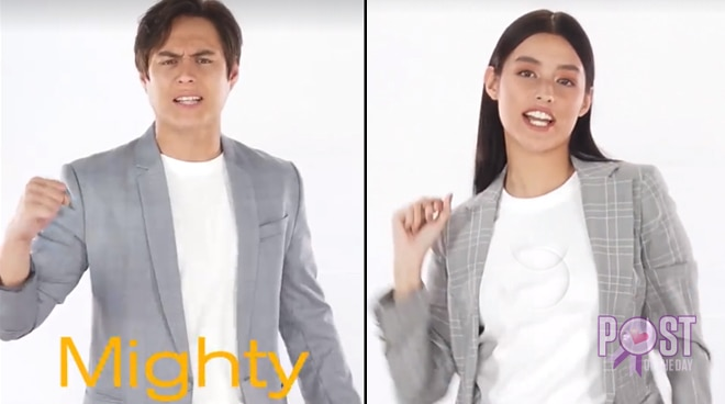 WATCH: Liza cheers for UP, Enrique for UST