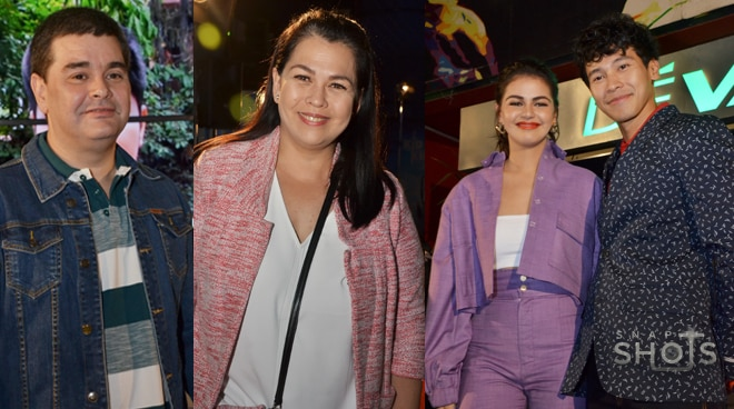 Ramon Christopher, Lotlot de Leon reunite at daughter Janine Gutierrez's movie premiere