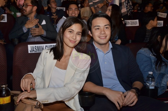 Janine Gutierrez and Enchong Dee's movie Elise is now showing on cinemas.