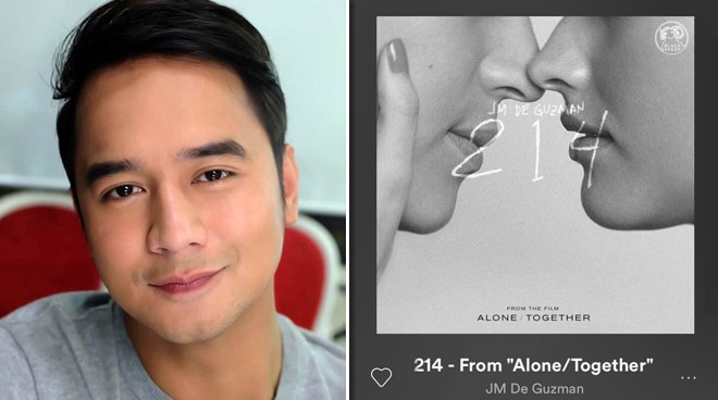 JM de Guzman releases '214' rendition worldwide