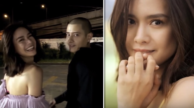 Erich Gonzales directs and sings in Thai rapper Marco Maurer's music video