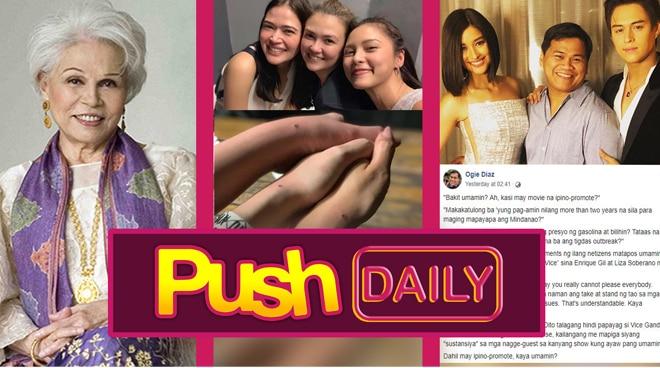 Push Daily Top 3: Armida Suguion-Reyna, AngBeKi and Ogie Diaz