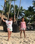 Cristine Reyes celebrates daughter Amarah's birthday in Boracay.