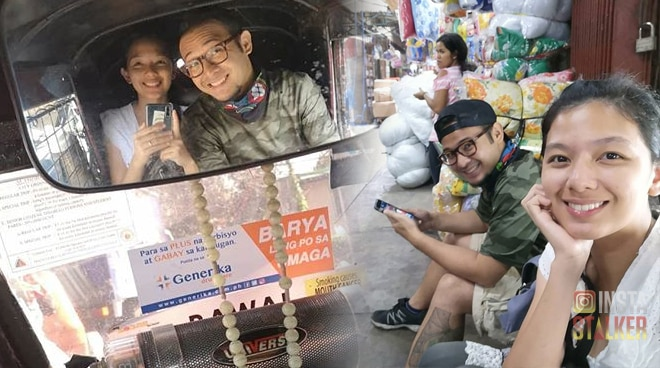 LOOK: Couple Jennica Garcia and Alwyn Uytingco celebrate anniversary in Divisoria