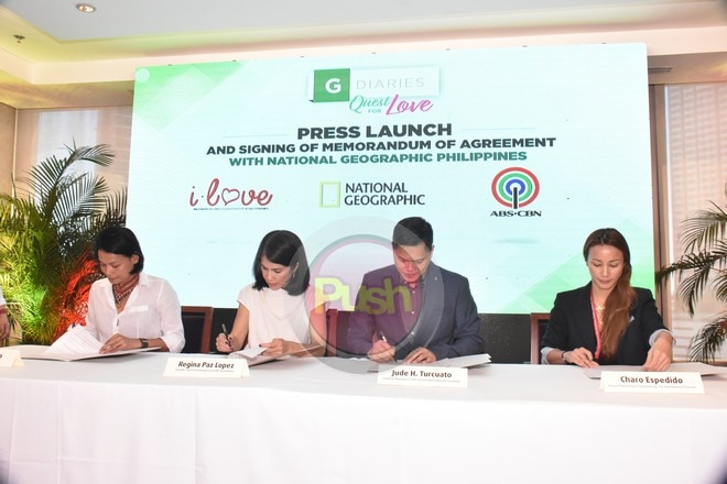 A press launch and signing was held on Friday, February 15.