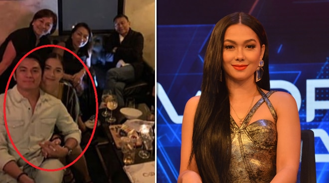 Maja Salvador spotted with rumored ex-boyfriend Rambo Nuñez