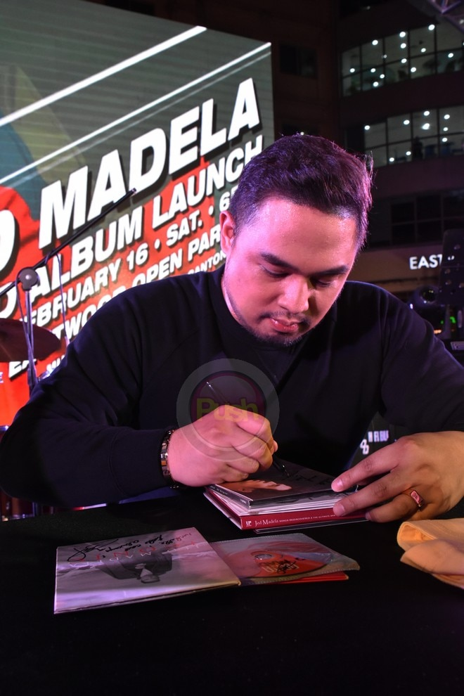 Jed Madela releases his new album called Superhero.