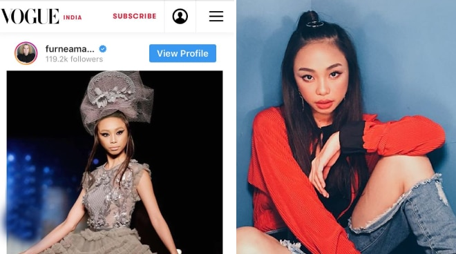 LOOK: Maymay Entrata featured in Vogue India