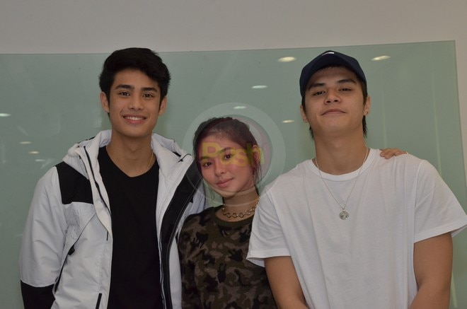 This is a spin-off of the movie 'Vince, Kath and James.'