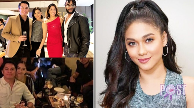Maja Salvador, rumored boyfriend Rambo Nuñez spotted together anew