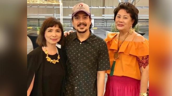 LOOK: John Lloyd Cruz spotted at Art Fair Philippines