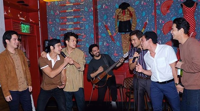 WATCH: Piolo Pascual, Jericho Rosales, more Star Magic actors channel Backstreet Boys in hilarious karaoke session