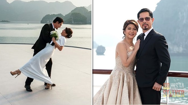 SEE: Christopher de Leon, Sandy Andolong renew wedding vows on 39th anniversary