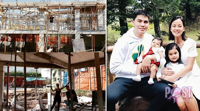 LOOK: Bianca Gonzalez builds a new home for her family