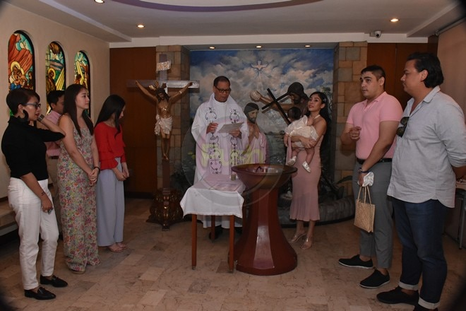 Welcome to the Christian world, baby Raphaelle Mosehla!