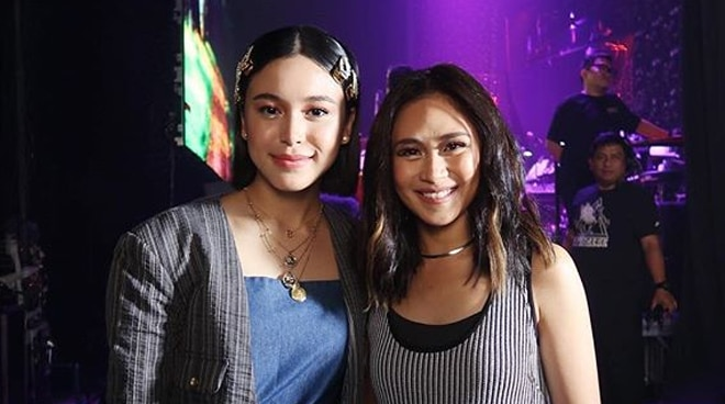 Claudia Barretto shares fangirl moment with Sarah Geronimo