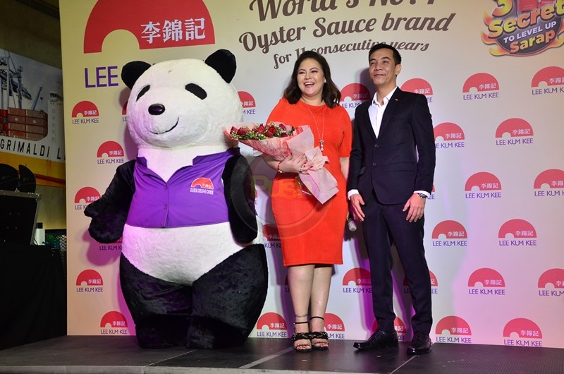 Karla Estrada is now the endorser of Lee Kum Kee sauce and condiments brand.