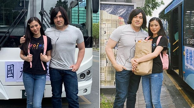 LOOK: Luis Manzano, Alex Gonzaga recreate iconic Meteor Garden scene as Dao Ming Si, Shan Cai