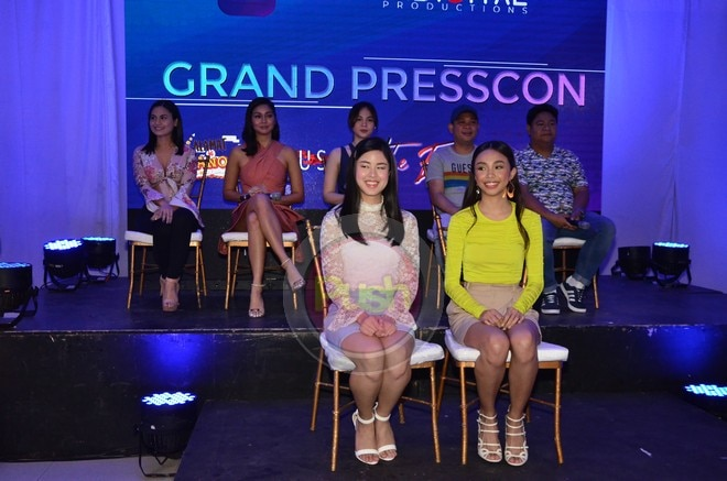 Present in the event were the cast members of some of iWant's shows.