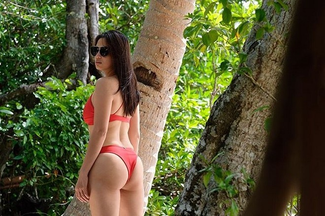 Diana Zubiri says to start the year with a sexy back.