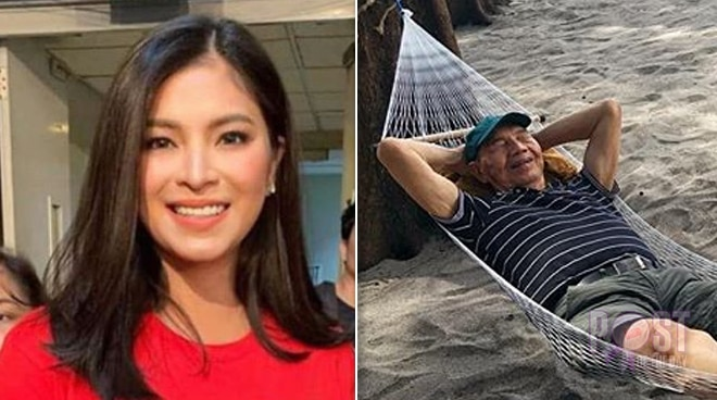 Angel Locsin spends quality time with her father during the holidays