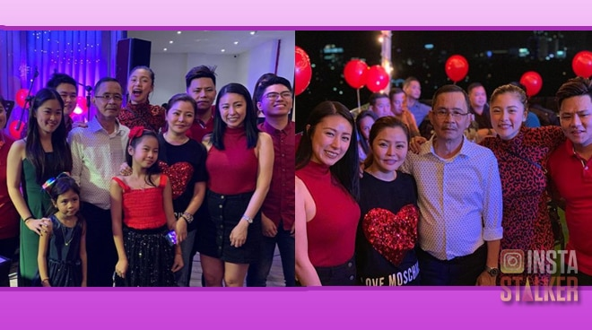 Kim Chiu and siblings celebrate father's 60th birthday