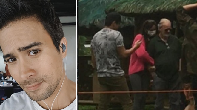 Here's the real story behind Sam Milby and Catriona Gray's viral photo together