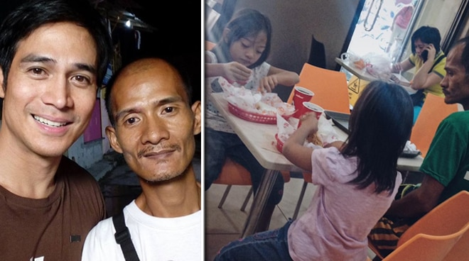 "Piolo Pascual volunteers to help children of viral ""selfless father"""