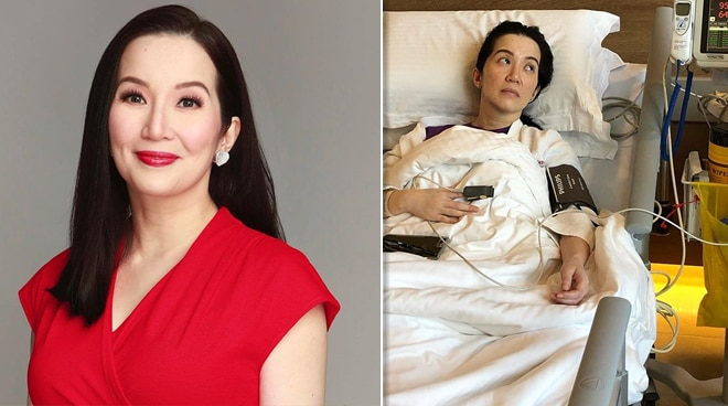 Kris Aquino undergoes treatment in Singapore