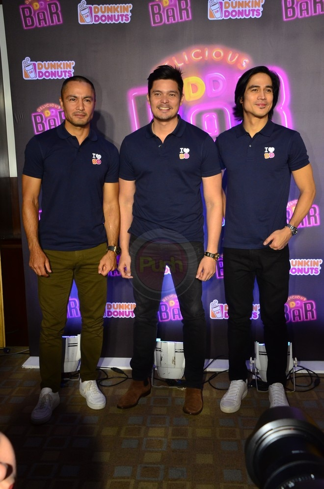 Piolo Pascual and Derek Ramsey welcome Dingdong Dantes to ...