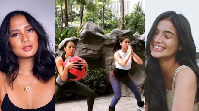 LOL! Check out this 'unfiltered' workout video of Anne Curtis and Isabelle Daza