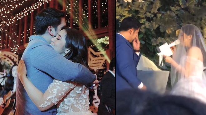 WATCH: Moira Dela Torre makes husband cry on their wedding day