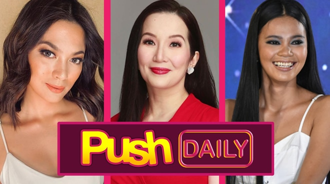 """Push Daily Top 3: Ariella Arida, Kris Aquino and Marie Songalia"""
